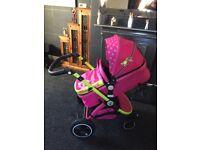 Mea Lux pram & car seat