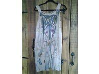 Anthropologie Silk Summer Dress size 10