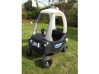 Little Tykes police car