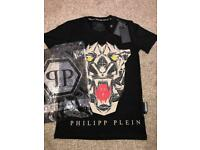 Men's Phillip Plein Tiger T-Shirt Small