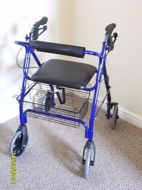 MOBILITY WALKER USED ONCE, IN PERFECT CONDITION