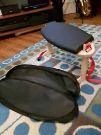 Portable, compact meditation stool