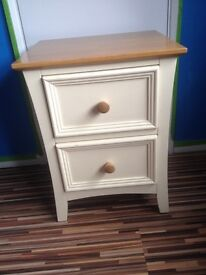 Shabby chic bedside drawer