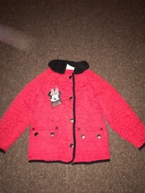 2-3 girls Minnie Mouse coat