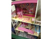 Dolls House ideal for Barbie
