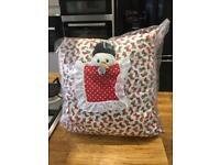 Handmade Xmas cushion new REDUCED