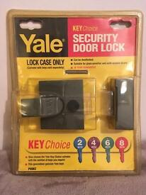 Brand new Yale security door lock P89KC - Lock case only