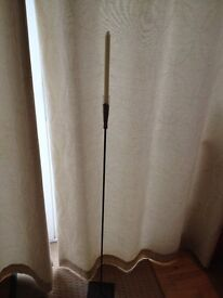 BRAND NEW AND NEVER USED - 1 STEM WROUGH IRON CANDLE HOLDER!