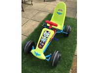 Disney Toy Story Buzz Lightyear outdoor ride on pedal car