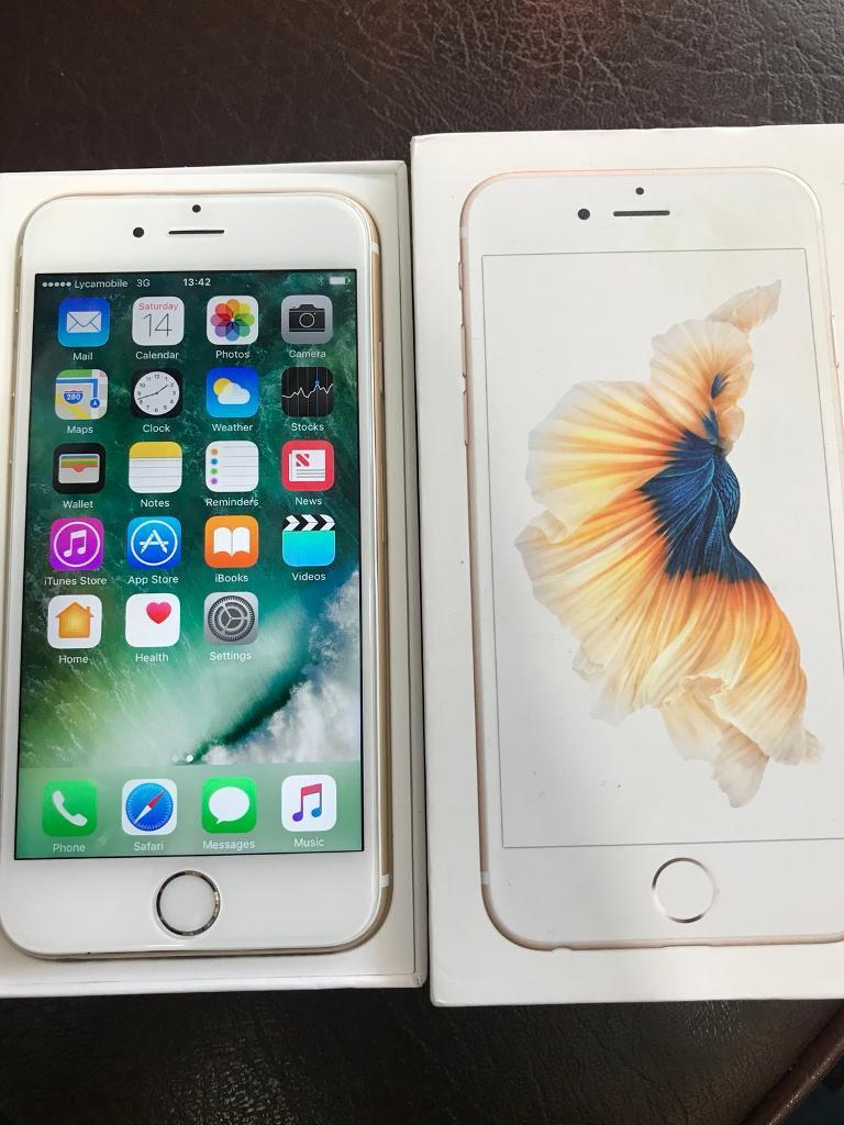 iPhone 6s - 128 GB used but in Pristine Condition Available in Gold Colour
