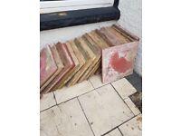 Rubbish removal/ free patio slabs 450×450