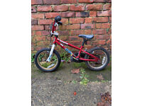 Kids Mongoose Scan R14 BMX Bike with protectors Childrens bicycle
