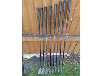 Powerbuilt Grand Slam graphite golf clubs