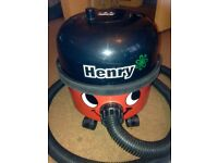 Numatic Henry HRV 200A Bagged Vacuum Cleaner Hoover 2 speed Red + spare bag