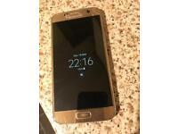 Cheap Samsung galaxy s7. Cracked