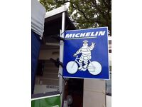 Vintage Michelin wall sign
