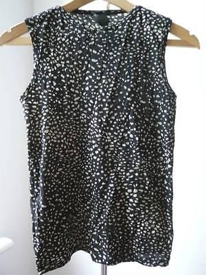 Alessandro Dell Acqua Intimo leopard print sleeveless t shirt saint laurent