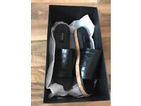 Dune black ladies shoes