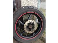 Aprillia rs 125 rear wheel