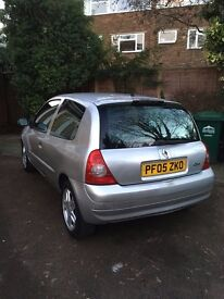 Silver Renault Clio 1.2 16v 3dr 75,500 Miles 2005 05 Reg PERFECT FIRST CAR