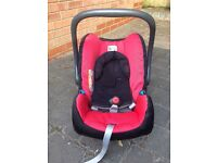 Britax car seat and Safe ISOFIX base