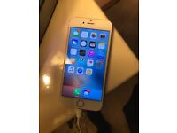 Gold iPhone 6 16gb, SIM unlocked to all networks.
