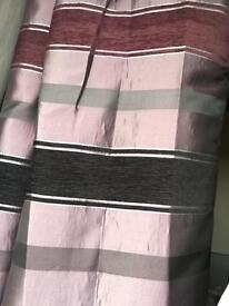 Harry Corry curtains with matching rug and pillows