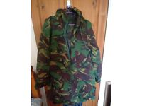 small waterproof / breathable camouflage jacket . Good condition .