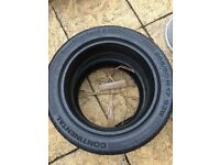 2 X continental sport contact2 tyres 205/50 R17 93w