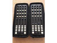 2x Allen & Heath Xone K2 MIDI USB DJ Controller & Hard Case