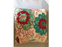 Cushion - pretty and colourful