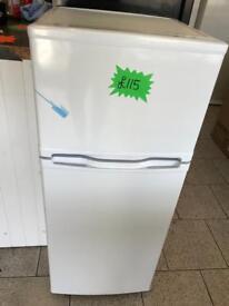 Currys essential fridge freezer new graded