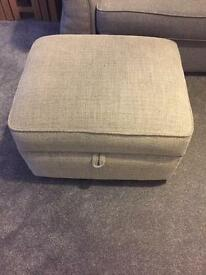 DFS House Beautiful Sophia Storage footstool
