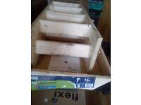 2.8m wooden loft ladder - 3 sections (fully extended) bargain £40