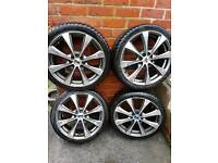 Alloy wheels 4 stud 5 stud vw ford Vauxhall look lots available Sheffield