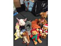 Collection of Winnie the Pooh toys £15