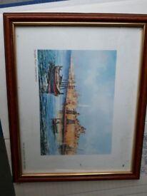 Senglea Point - framed Print picture