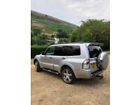Mitsubishi shogun 03 plate 3.2 did turbo diesel 7 seater