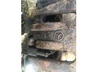 Mercedes benz vito brake calipers 2004