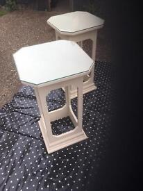 Art Deco Style Tables suitable for Lamps or pictures or anything
