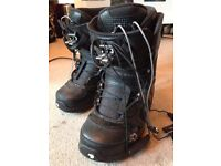 Snowboard, bindings, boots, jacket and accessories