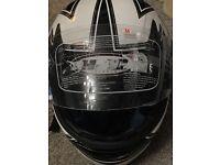 Motorbike helmet size (m) new