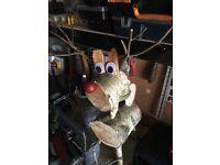 Christmas Log Reindeer