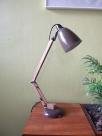 Retro Vintage 70s Desk Table Lamp by Maclamp Habitat