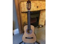 Classical guitar with carry bag