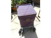Sholley -shopping trolley/walking aid