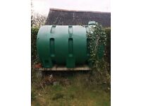 Oil Tank for Free, come & collect