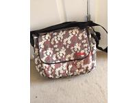 Skip hop dash deluxe cherry blossom changing bag