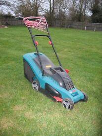 Electric Lawnmower with Grassbox, Bosch Rotak 34