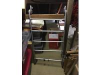 Free back of door rack